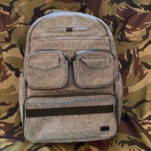 Lug puddle jumper backpack